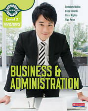 NVQ/SVQ: Level 2: Business & Administration Candidate Handbook by Parras Majith…