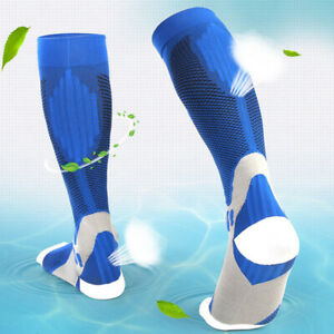 Unisex Socks Compression Breathable Calf Pressure Stockings Soft Outdoor Sports