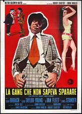 CINEMA-manifesto LA GANG CHE NON SAPEVA SPARARE orbach, fleet, stander,GOLDSTONE