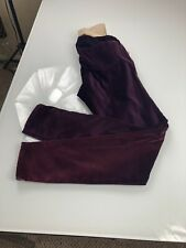 A Pea in the Pod Suede Purple maternity pants size S