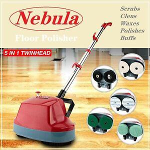 NEW* 5 in1 Floor Polisher Buffing Machine Carpet & Hard Surface Bonnet Machine
