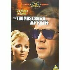 The Thomas Crown Affair 1968 Steve McQueen DVD (uk) Drama Romance Movie Region 2