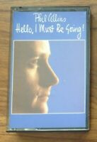 Phil Collins - Hello I Must Be Going (Cassette 1982). VG + condition.Free P&P