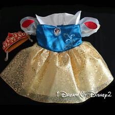NWOT Build-A-Bear SNOW WHITE Dress & Crown Teddy COSTUME DISNEY PRINCESS