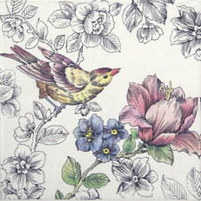4x Paper Napkins for Decoupage Decopatch Craft - Dream Garden