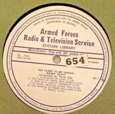 """RADIO SHOW: AFN RL35-8 BOBBY SCOTT """"MY HEART IN MY HANDS & SAMMY KAYE,JACK JONES"""