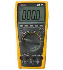 "HTC DM-97 3-3/4"" DIGITAL MULTIMETER 4000 Counts , Capacitance,Frequency ,Temp"