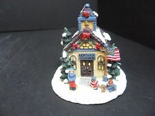 Similar to Dept 56 Crystal Falls Village Miniatures Lincoln School w/ Box
