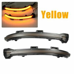2x Dynamic Led Mirror Turn Signal Indicator Light Lamp for Volkswagen Golf 7 MK7