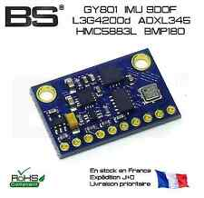 GY801 IMU 9DOF L3G4200D 3 gyro + 3 accel + 3 compas + BMP180 Arduino STM32