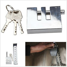Stainless Steel Car Truck 8 Hole Brake Clutch Accelerator Lock Anti-Theft Device