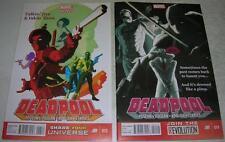 DEADPOOL 13 & 14 (Marvel Comics 2013) POWER MAN & IRON FIST (VF-) 1970s Spoof