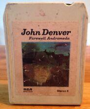 """John Denver """"Farewell Andromeda"""" 8 Track Stereo Cartridge"""