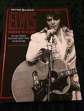 Elvis Presley Souvenir Program Book Direct from Graceland