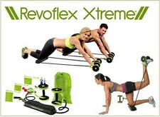 Revoflex Xtreme Extreme Ab Wheel Abdominal Core Carver Trainer Workout Set