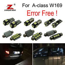12x LED plate bulb Interior dome Lights Kit For Mercedes Benz A class W169 05-12
