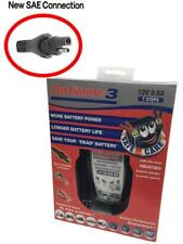 Optimate 3 Motorcycle Motorbike Battery Charger New SAE Connection 2017