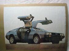 DE LOREAN DMC VINTAGE POSTER BAR GARAGE MAN CAVE 1983 CAR CNG923