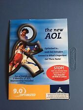 New Unopened AOL CD Version 9.0 Optimized - The New AOL