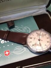 Valjoux 22 Vetta Chronographe 1940/50 Rare Box & Paper