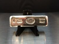 4 oz 999 Poured Silver Bullion Bar by Yeagers Poured Silver YPS - KitKat