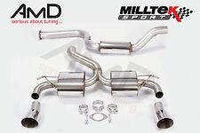 "Milltek Focus RS Mk2 3"" Ultimate Cat Back Exhaust - Resonated"