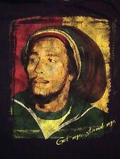 Bob Marley Get Up Stand For Your Right Rasta Reggae Ska Music Soft T Shirt M