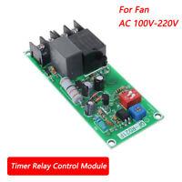 AC100V-220V Relais Modul Relaiskarte Relaisplatine Für Fan Ventilator QF-RD21F