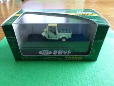 Ebbro 43095 Diahatsu Midget Green with open top 1:43