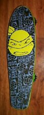 "Bravo Sports Teenage Mutant Ninja Turtles 21"" Wood Skateboard Turtle Power 2015"