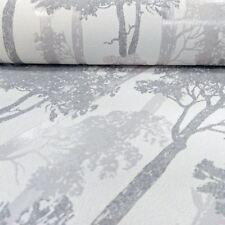 Erismann Countryside Forest Pattern Wallpaper Trees Wood Motif Textured Glitter