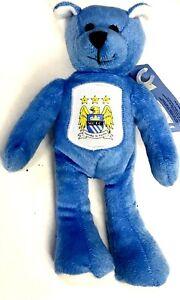 Manchester City Teddy Beanie Bear Official Football Gifts