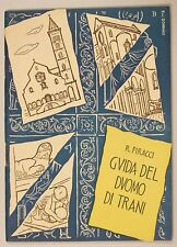 Raffaello Piracci GUIDA DEL DUOMO DI TRANI 1957 Leoncavallo Puglia