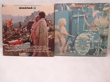 Lot Of 2 - Woodstock One & Woodstock Two - Original Soundtrack And More | VINYL