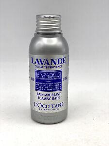 L'Occitane Foaming Bath Lavande De Haute-Provence 3.3oz Lavender Essential Oil