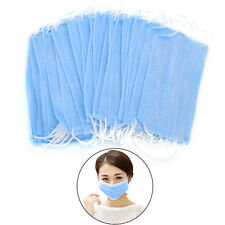 Disposable 50 Pcs Dental Medical Surgical Dust Ear Loop Face Mouth Masks BH
