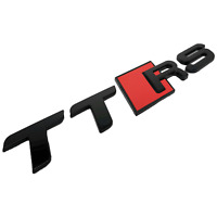 Audi MK2 TTRS Gloss Black Boot Badge Emblem