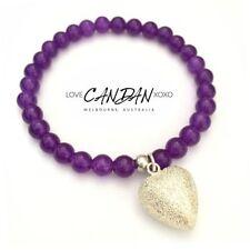 Amethyst Stone Beaded Fashion Bracelets
