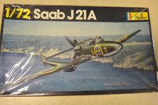 Vintage Heller 1/72 Saab J21A Model Kit - Pn - 261