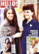 HELLO MAGAZINE 16th APR 2018 ~ KATE MIDDLETON ~ MEGHAN MARKLE - ELIZABETH HURLEY