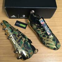adidas X BAPE Cleats Mens Football Boots FG Green Camo Soccer F35829 NWD SIZES