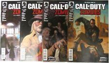 CALL OF DUTY: ZOMBIES II (4) Issue Set #1 2 3 4 comic 1st print Dark Horse