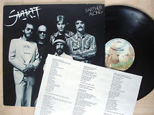 Spirit Farther Along + Lyric Insert A-4 B-3 US LP Mercury SRM-1-1094 1976 EX/EX+