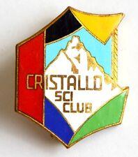 Spilla Cristallo Sci Club (Johnson)