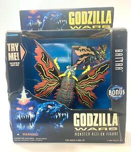 """Battra Godzilla Wars 1995 Trendmasters Toho 4"""" Figure In Box Read"""
