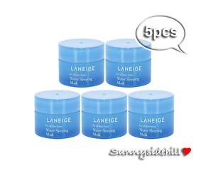LANEIGE Water Sleeping Mask 15ml x 5pcs US Seller Free Ship