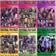 Original Footage Karaoke Video Biography  6 Complete DVD Set Collection NEW
