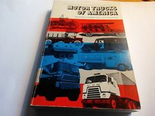 Motor Trucks of America by Genevieve J. Wren and James A. Wren (1980, Paperback)