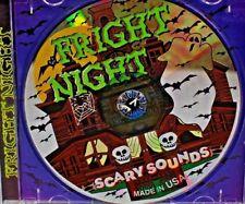 ***NEW*** Fright Night Scary Sounds (CD, 1999 USA Gemstone) Halloween