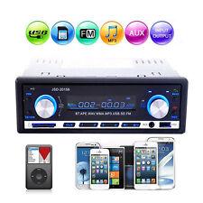 4-Kanal Autoradio Bluetooth SD USB MP3 WMA AUX-In Freisprechen Tuner Stereo EA07